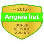 Angie's List 2015 Super Service Award