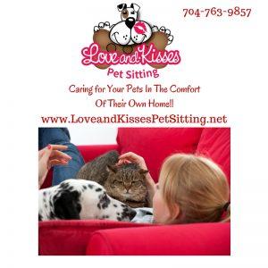 Pet Sitting in Mint Hill NC